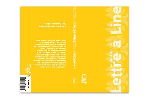 Couverture complète de Lettre à Line