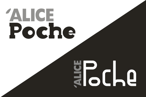 Propositions pour le logo de la nouvelle collection poche de Alice Jeunesse